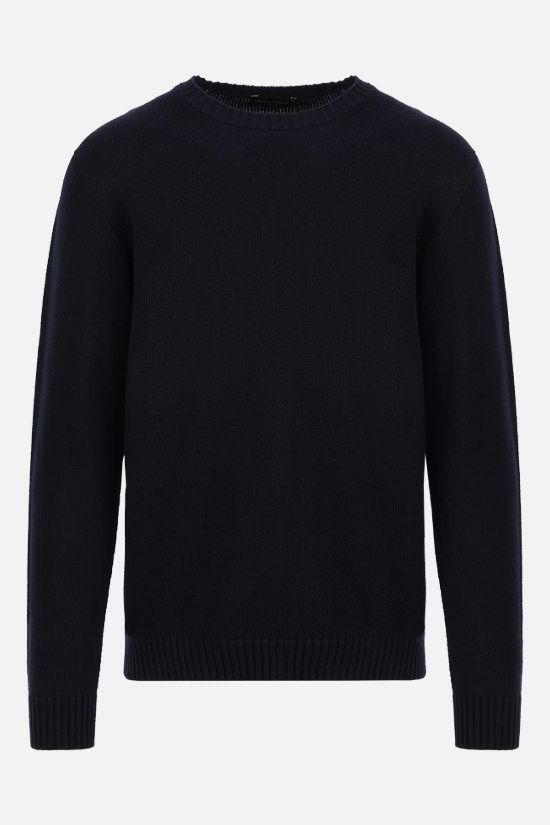 ROBERTO COLLINA: organic cotton pullover Color Blue_1