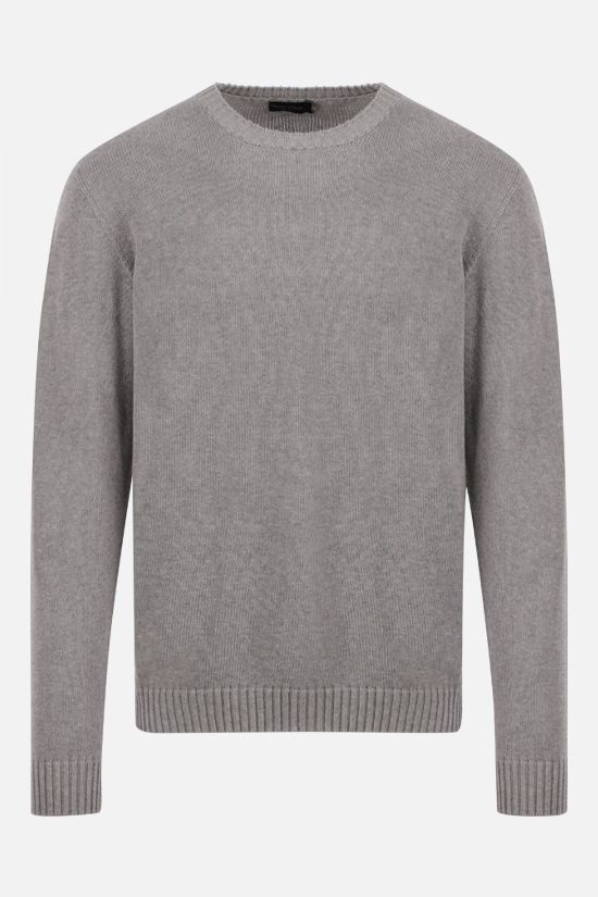 ROBERTO COLLINA: organic cotton pullover Color Grey_1