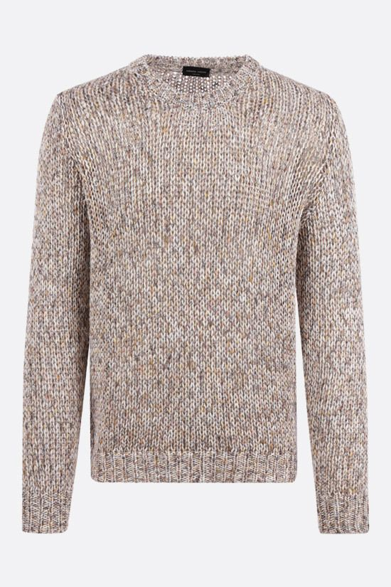 ROBERTO COLLINA: cotton pullover Color Multicolor_1