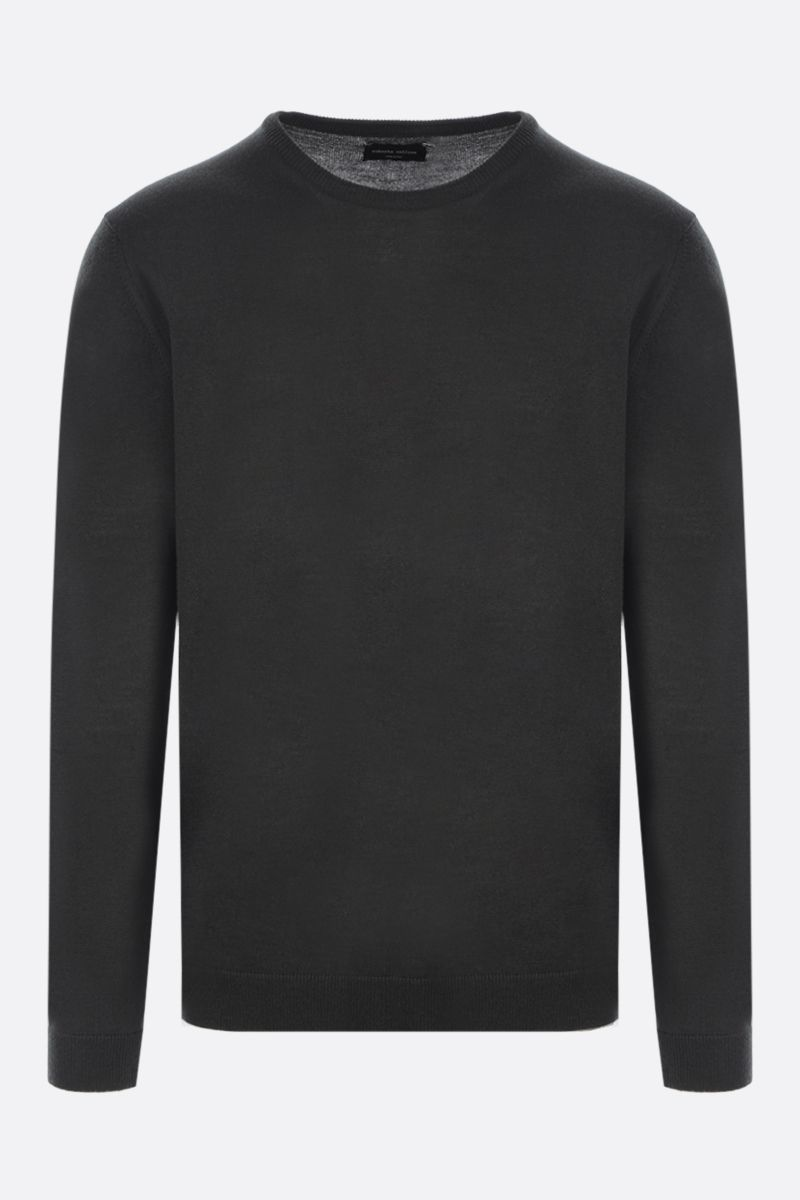 ROBERTO COLLINA: wool pullover Color Green_1