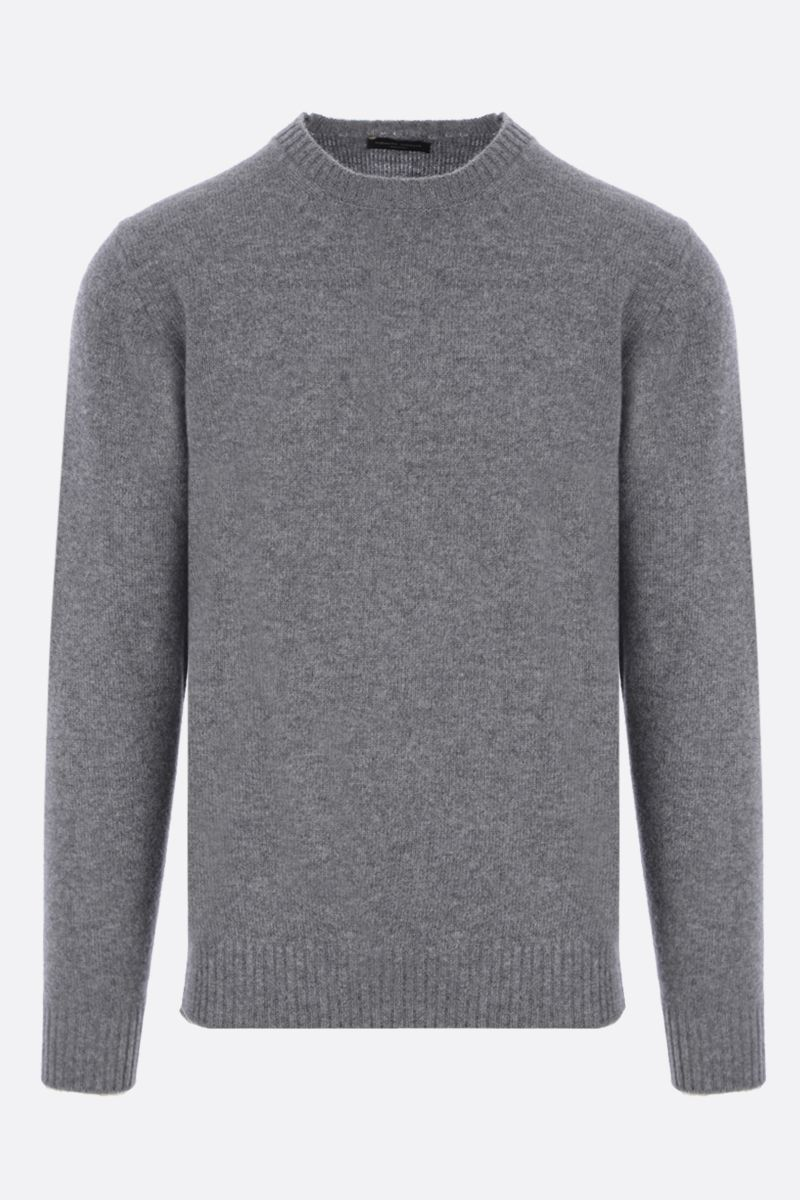 ROBERTO COLLINA: cashmere wool blend pullover Color Grey_1