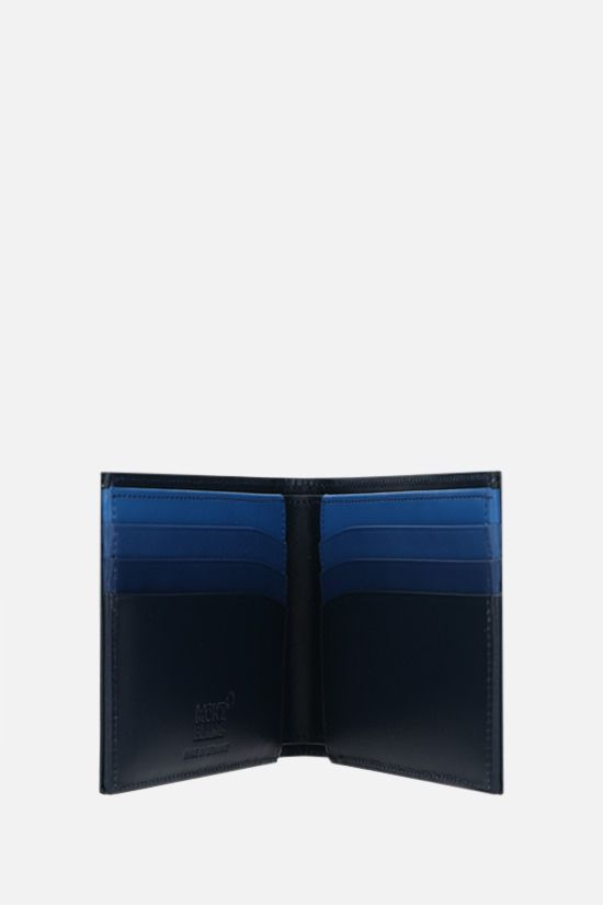 MONTBLANC: Meisterstück smooth leather wallet Color Blue_2