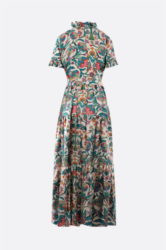 LA DOUBLE J: Long and Sassy silk dress Color Multicolor_2