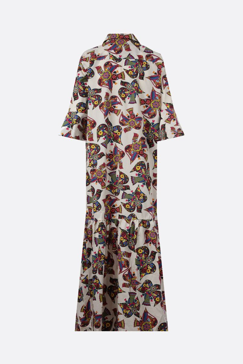 LA DOUBLE J: Artemis cotton long dress Color Multicolor_2