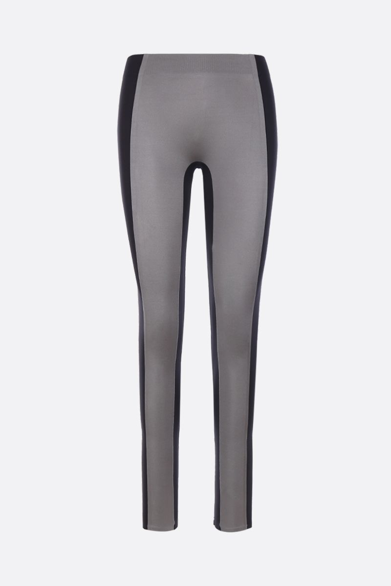 REEBOK X VICTORIA BECKHAM: Reebok Victoria Beckham tights in nylon Color Grey_1