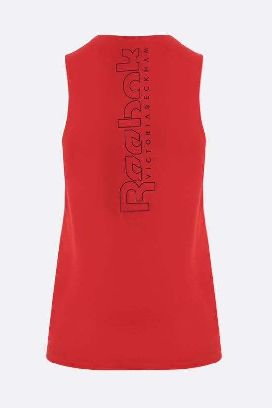 REEBOK X VICTORIA BECKHAM: Reebok Victoria Beckham technical jersey sleeveless top Color Red_2
