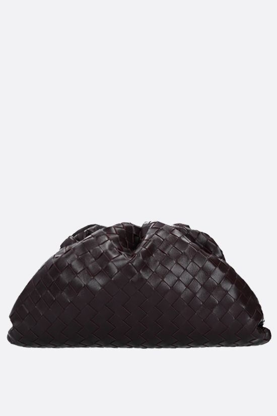 BOTTEGA VENETA: The Pouch clutch in Intrecciato VN Color Purple_1