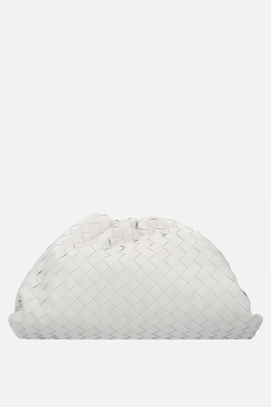 BOTTEGA VENETA: The Pouch clutch in Intrecciato VN Color Neutral_1