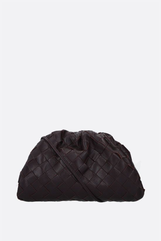 BOTTEGA VENETA: The Pouch 20 clutch in Intrecciato nappa Color Purple_1
