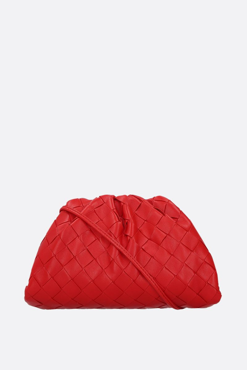 BOTTEGA VENETA: clutch The Pouch 20 in Intrecciato nappa_1