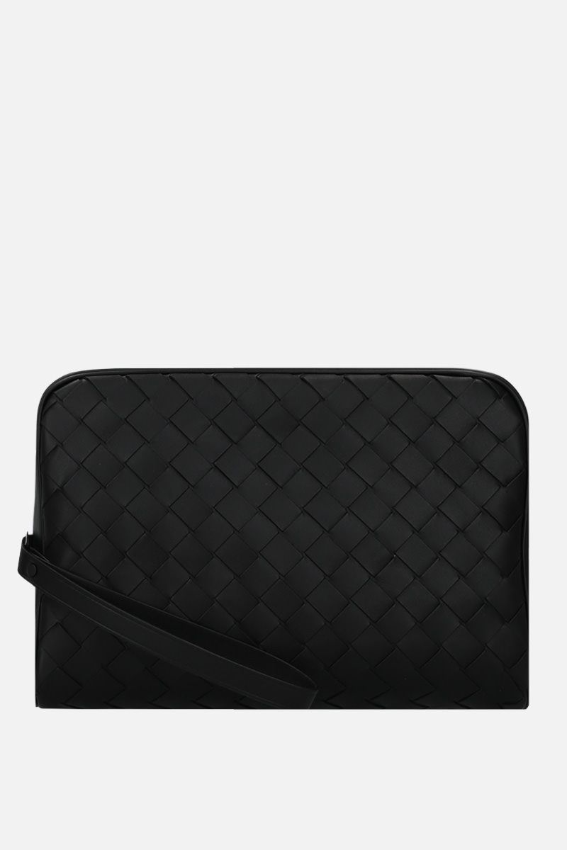 BOTTEGA VENETA: Intrecciato VN beauty case Color Black_1