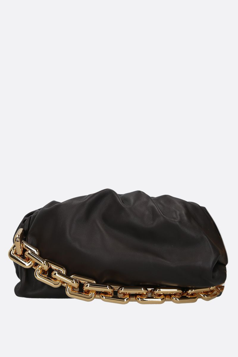 BOTTEGA VENETA: clutch The Chain Pouch in pelle liscia_1