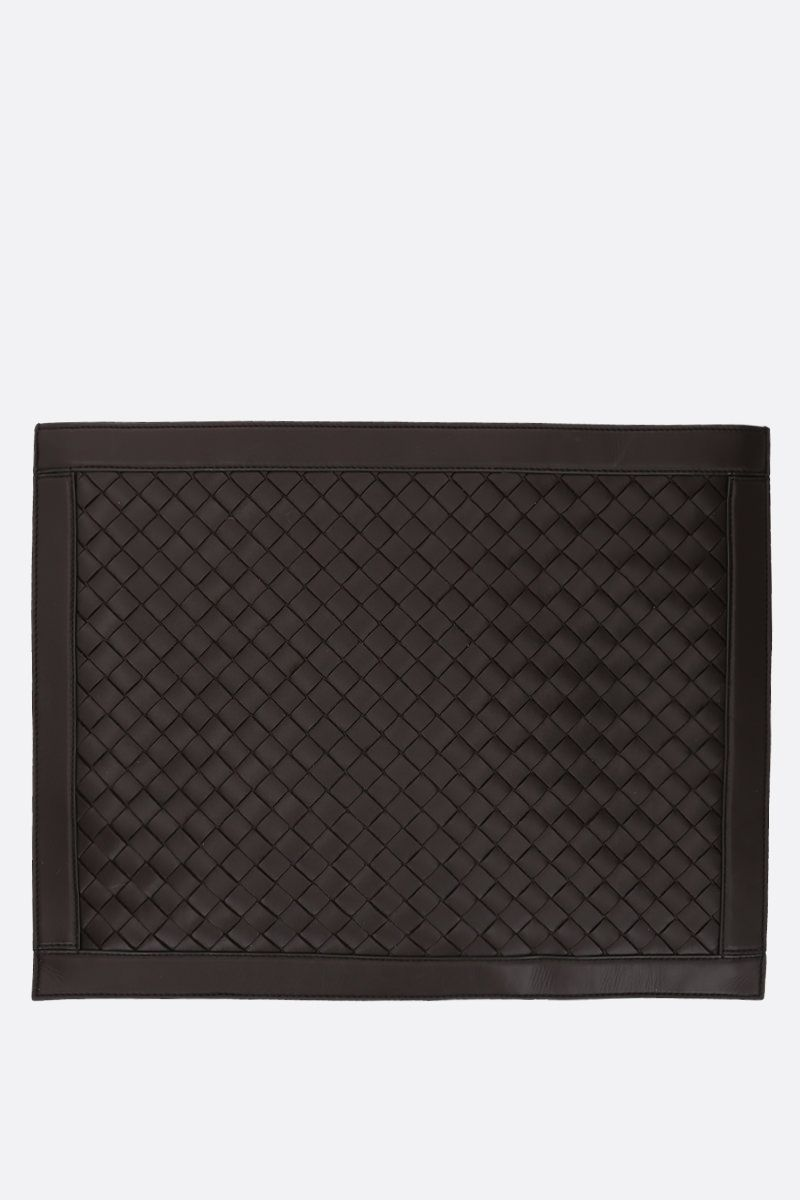 BOTTEGA VENETA: Intrecciato Hidrology clutch Color Brown_1
