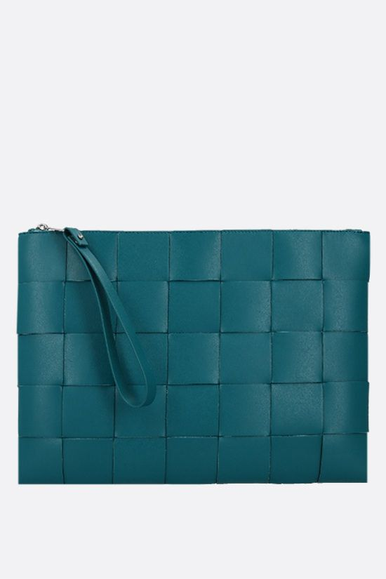 BOTTEGA VENETA: Maxi Intrecciato clutch Color Multicolor_1