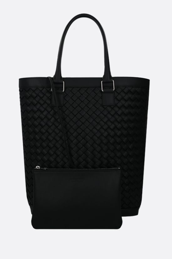 BOTTEGA VENETA: Intrecciato VN shopping bag Color Black_2