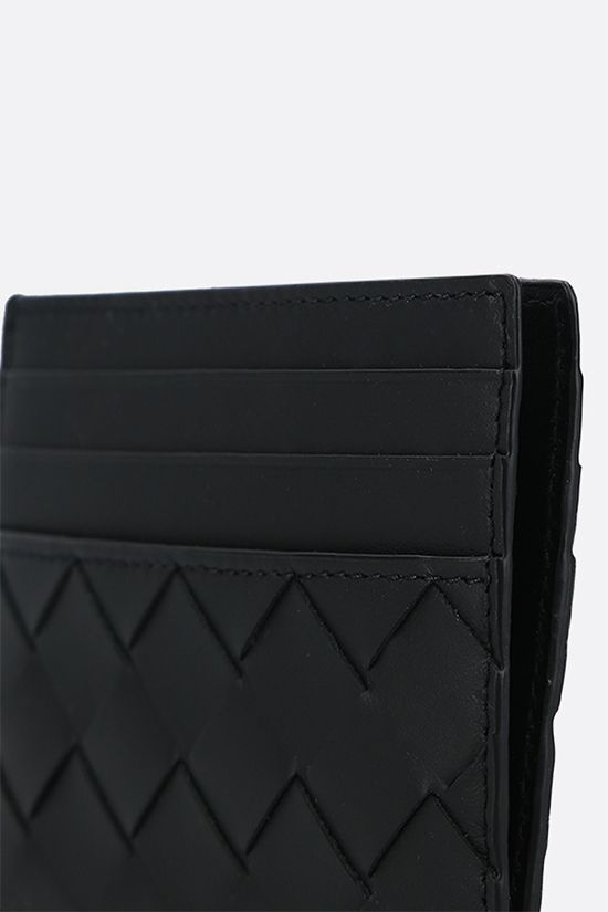 BOTTEGA VENETA: Intrecciato VN card case Color Black_4