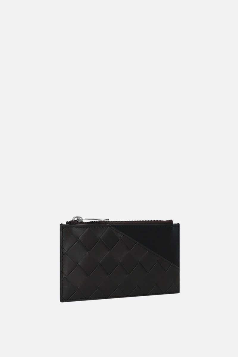 BOTTEGA VENETA: Intrecciato VN zip card case Color Multicolor_2