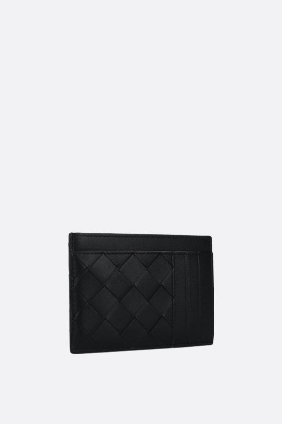 BOTTEGA VENETA: Intrecciato VN card case Color Black_2