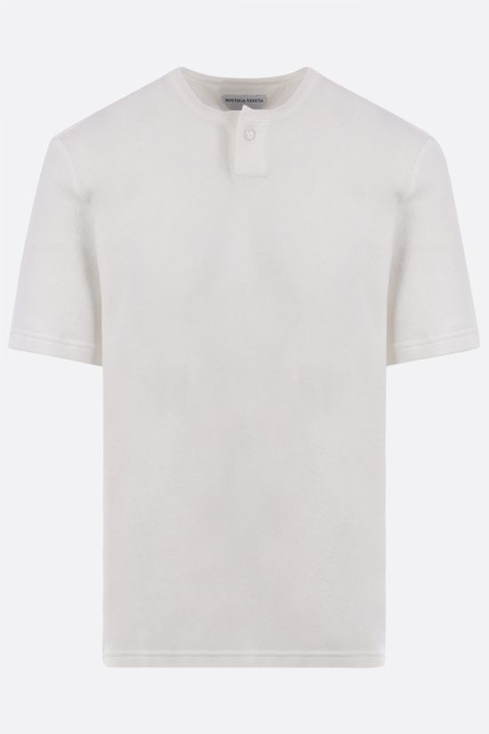 BOTTEGA VENETA: cotton terrycloth t-shirt Color Neutral_1