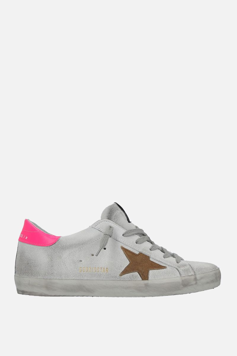 GOLDEN GOOSE DELUXE BRAND: Superstar sneakers in suede_1