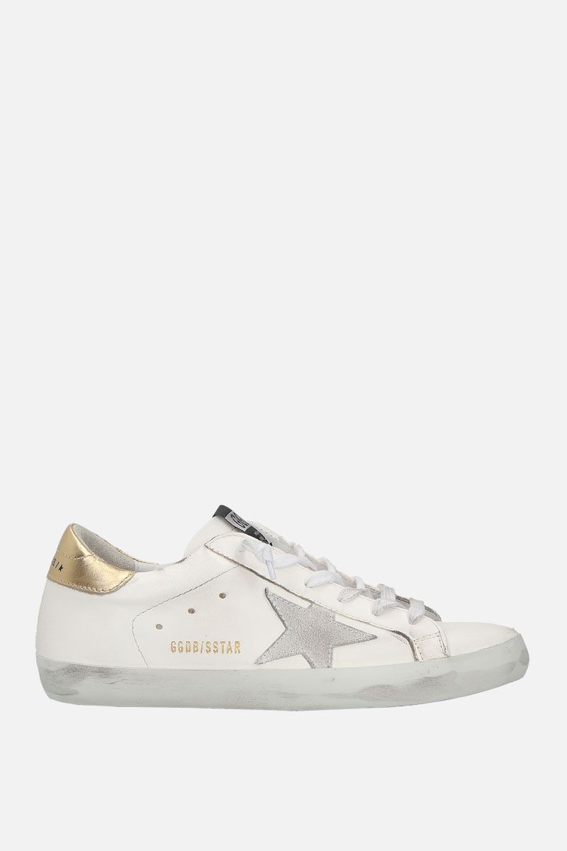 GOLDEN GOOSE DELUXE BRAND: Superstar sneaker in smooth leather Color White_1