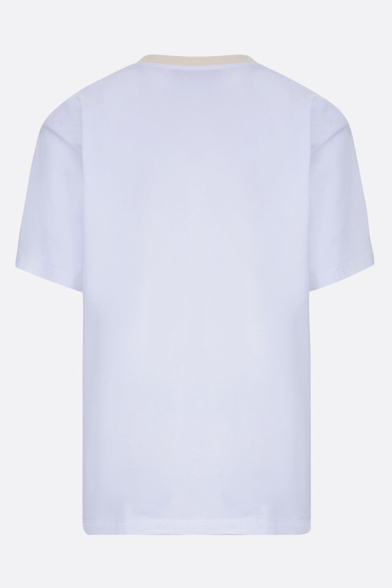 GOLDEN GOOSE DELUXE BRAND: Parker cotton t-shirt Color White_2