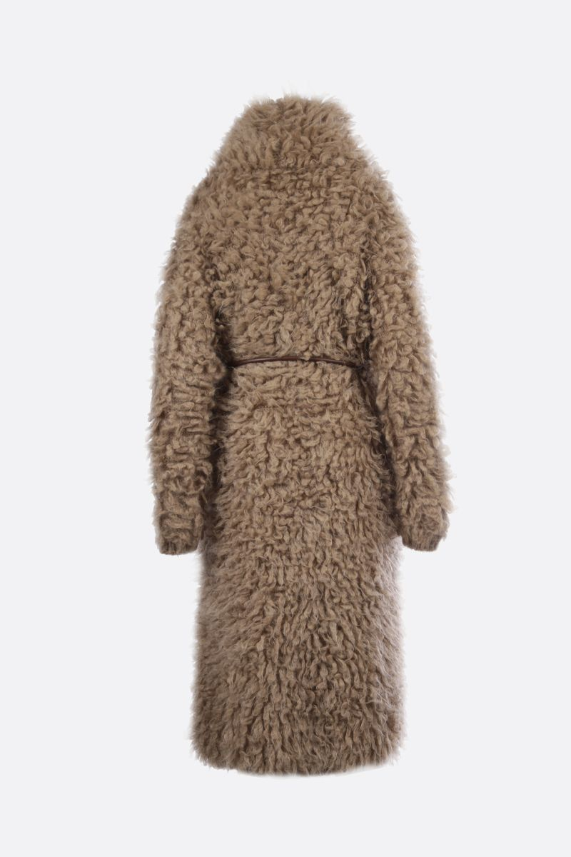 BRUNELLO CUCINELLI: mohair knit double-breasted coat_2