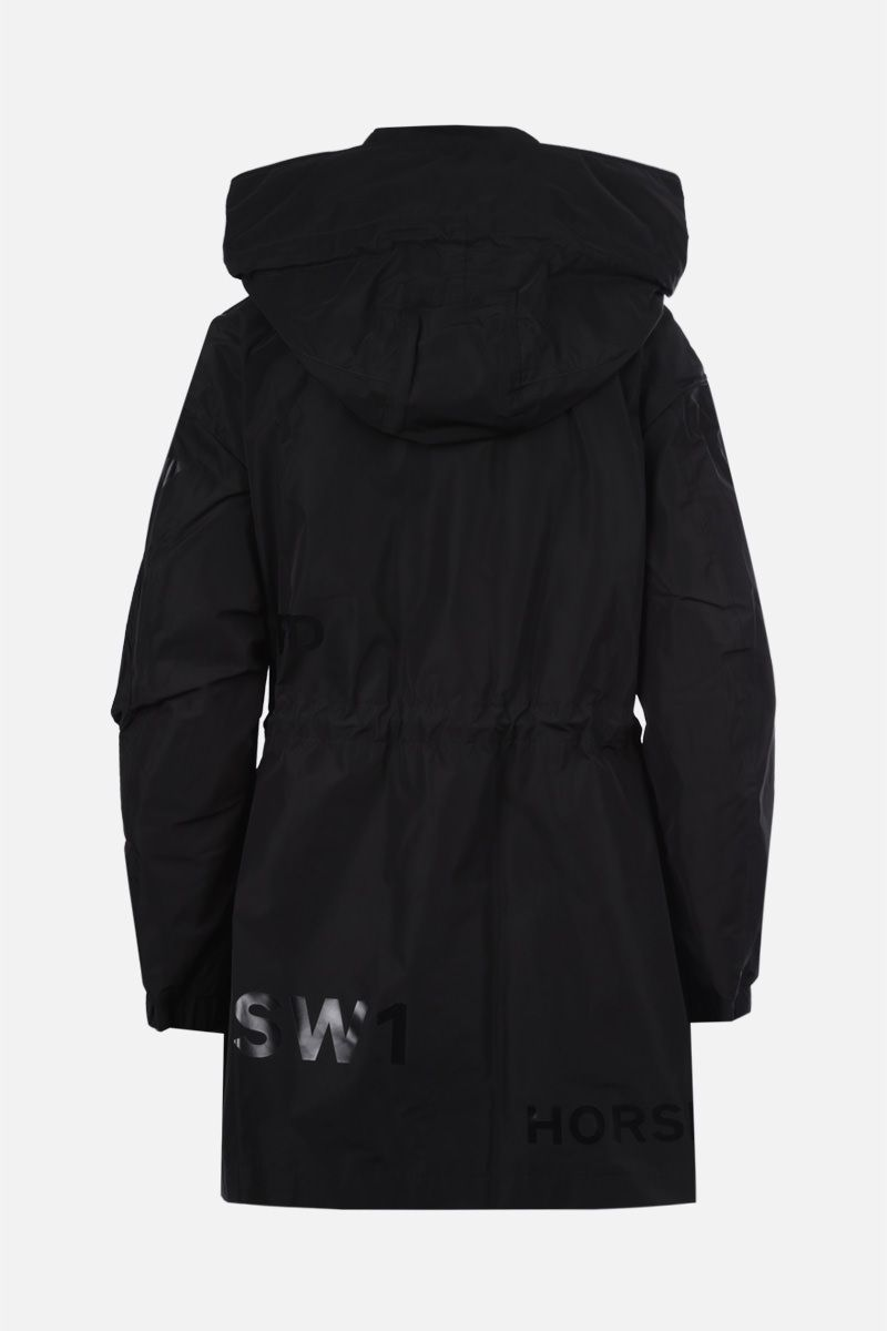 BURBERRY: Dartmouth nylon taffetà parka Color Black_2