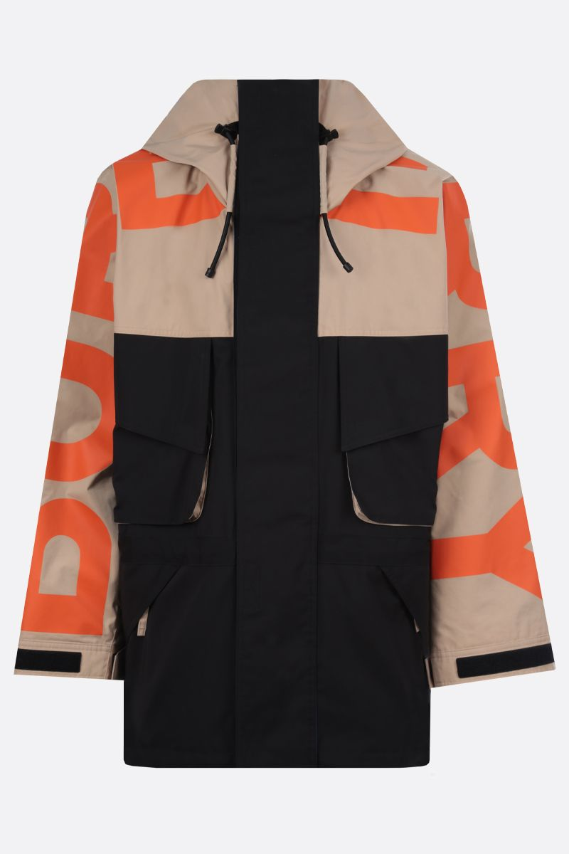 BURBERRY: parka oversize Parkhurst in twill tecnico_1