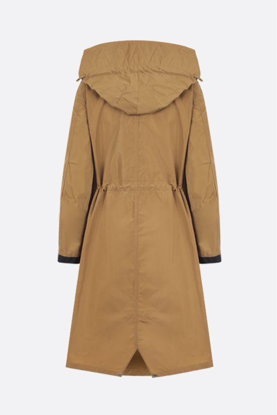 BURBERRY: Colney taffeta parka Color Brown_2