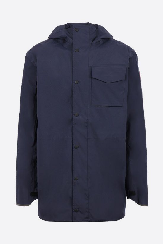 CANADA GOOSE: Nanaimo nylon windbreaker Color Blue_1