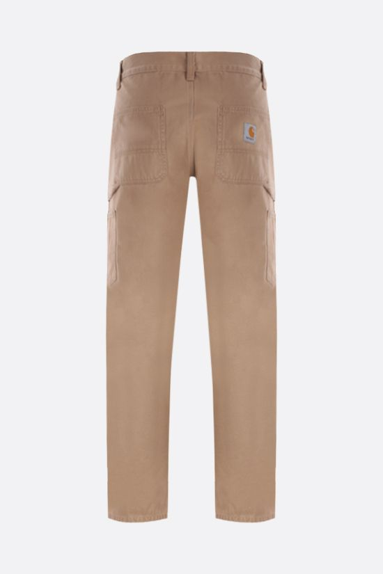 CARHARTT WIP: pantalone Ruck Single Knee in cotone Colore Marrone_2