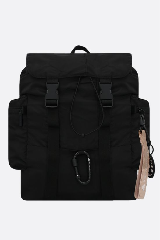 ADIDAS BY STELLA McCARTNEY: adidas by Stella McCartney recycled nylon backpack Color Black_1