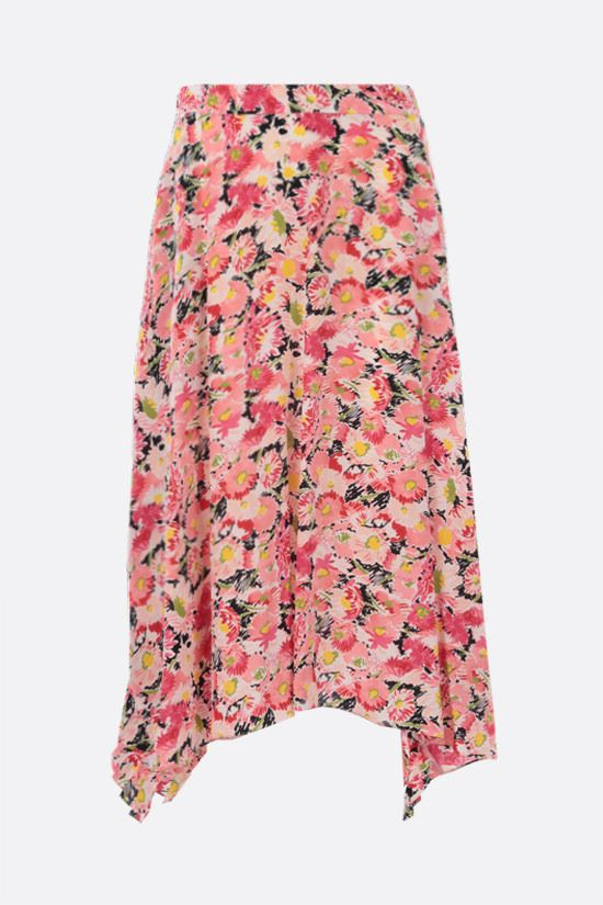 STELLA McCARTNEY: Ashlyn silk midi skirt Color Multicolor_2