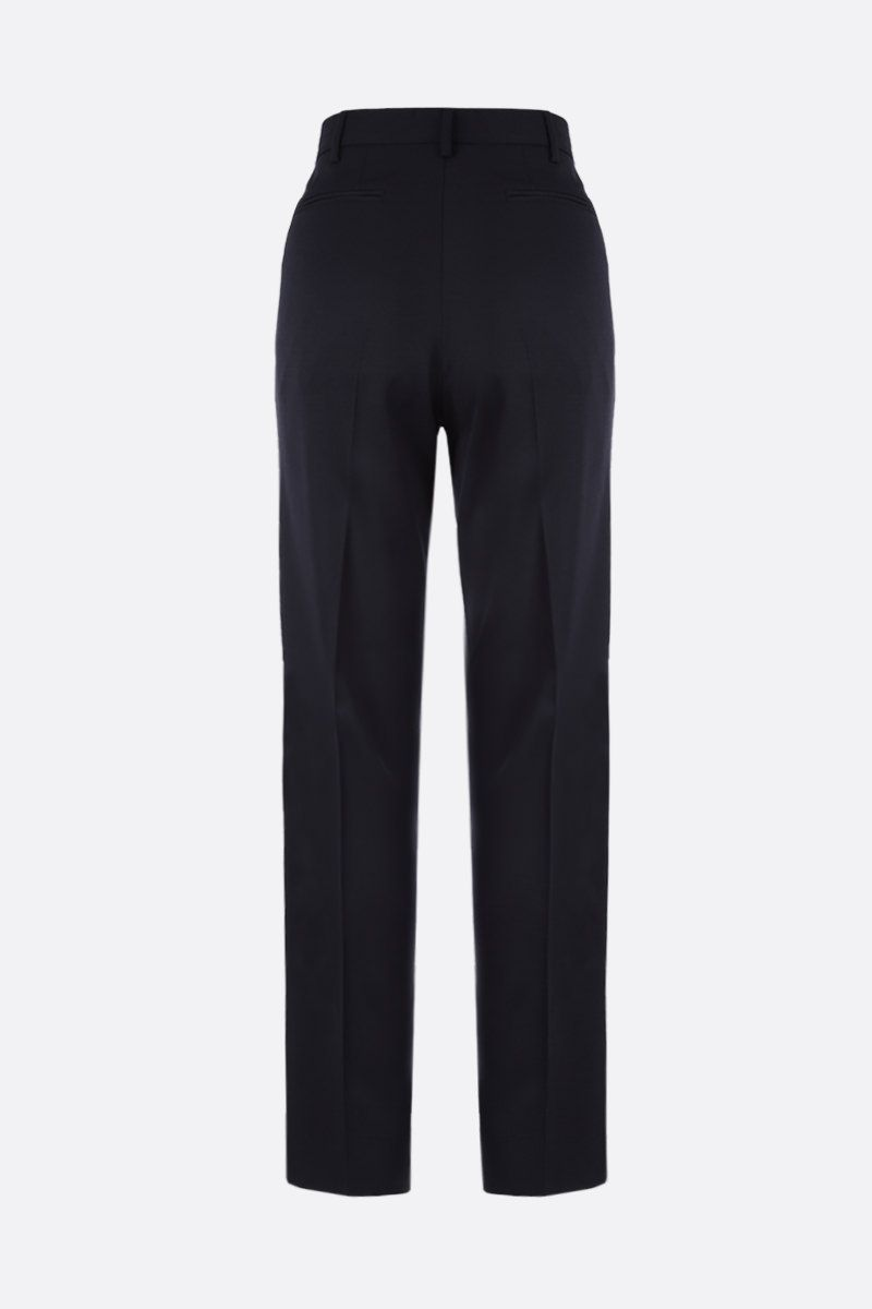 STELLA McCARTNEY: wool darted pants Color Black_2