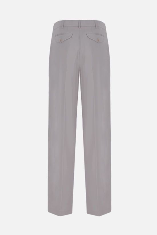 STELLA McCARTNEY: Louise wool darted pants Color Grey_2