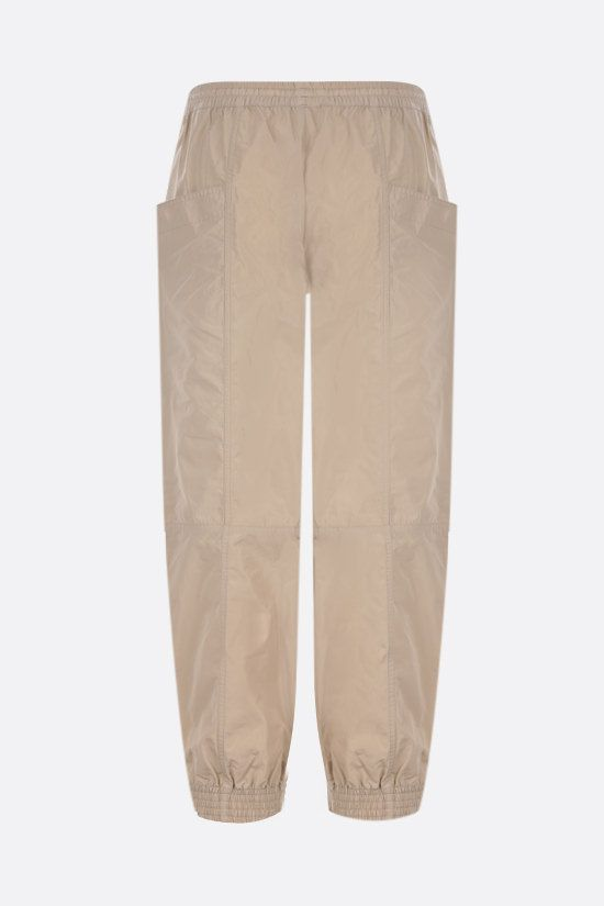 STELLA McCARTNEY: June technical fabric joggers Color Brown_2