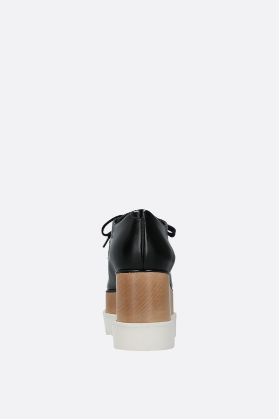 STELLA McCARTNEY: scarpa derby Elyse in Alter Nappa lucida Colore Nero_3