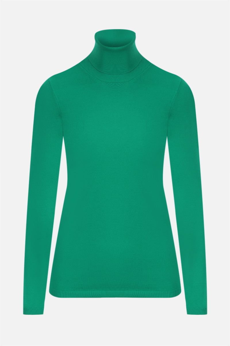 STELLA McCARTNEY: technical knit top Color Green_1