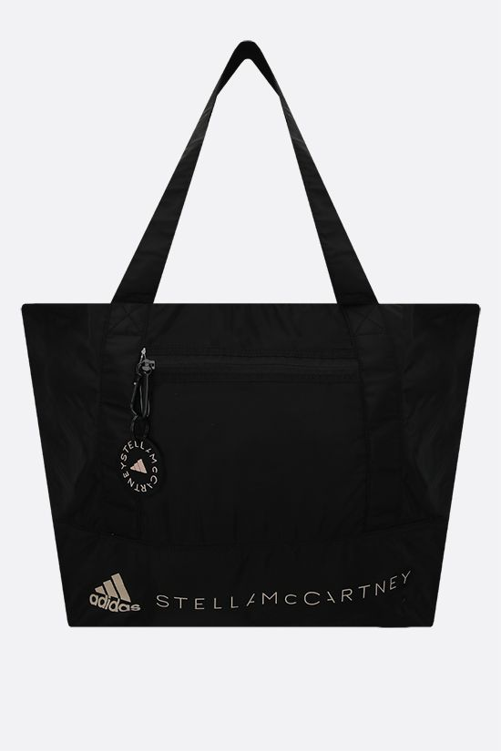ADIDAS BY STELLA McCARTNEY: adidas by Stella McCartney recycled nylon medium tote Color Black_1