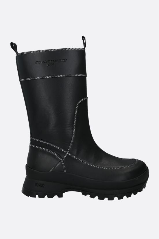 STELLA McCARTNEY: Trace Utility boots in Alter Nappa Color Black_1
