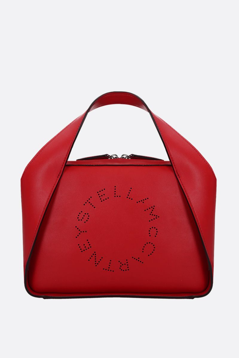 STELLA McCARTNEY: Stella Logo medium tote in Alter Nappa_1