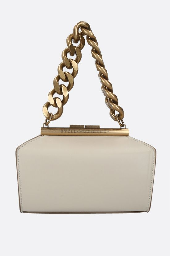 STELLA McCARTNEY: Alter Nappa top handle bag Color Neutral_1