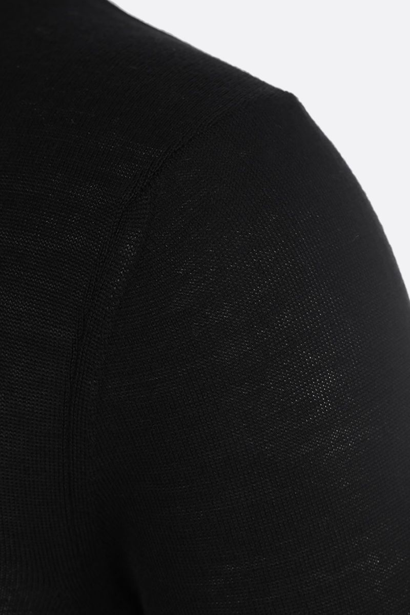 STELLA McCARTNEY: lightweight wool pullover Color Black_3