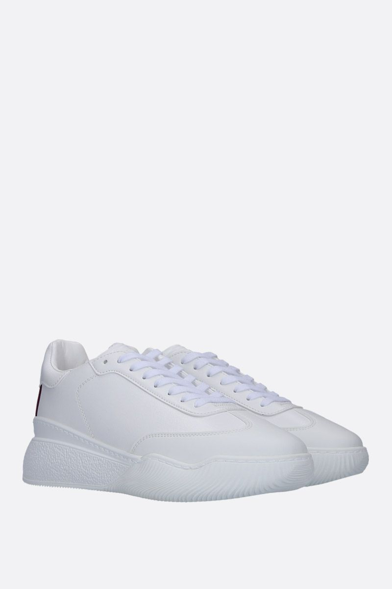 STELLA McCARTNEY: Loop sneakers in Alter Nappa Color Neutral_2