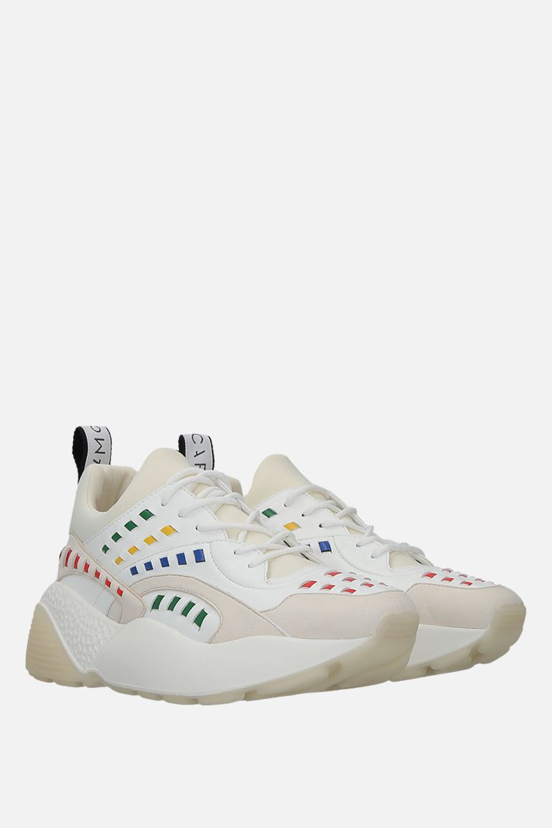 STELLA McCARTNEY: Eclypse sneakers in Alter Nappa and neoprene Color Multicolor_2