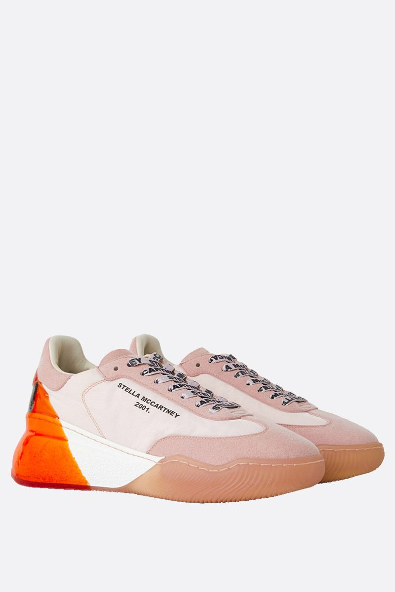 STELLA McCARTNEY: Loop nylon and Alter Suede sneakers_2