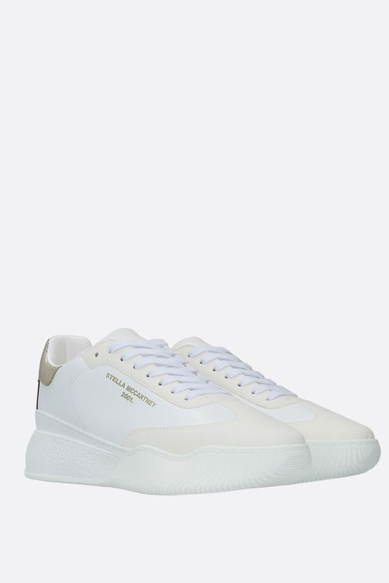 STELLA McCARTNEY: Loop sneakers in Alter Nappa Color White_2