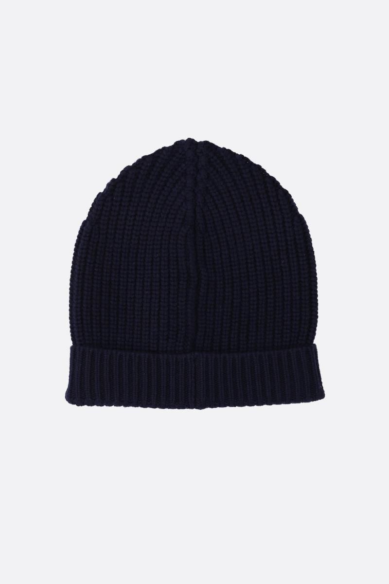 DOLCE & GABBANA: cashmere knit beanie Color Blue_2