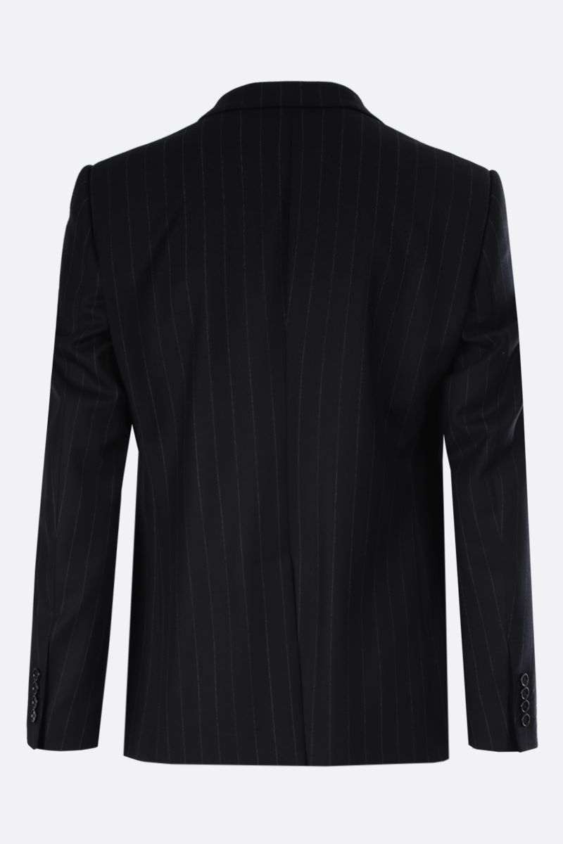 DOLCE & GABBANA: Martini pinstriped wool blend two-pieces suit Color Grey_4